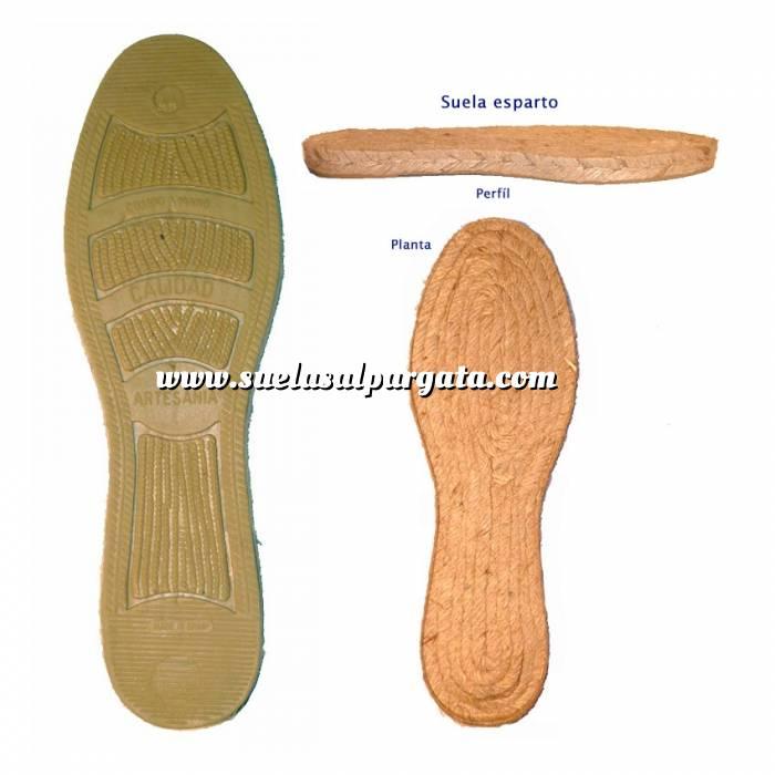 Imagen Goma Plana RECTA Clasic T16-46 AT Suela Goma Plana Recta Clasica T-45
